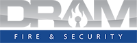 DRAM Fire & Security Logo